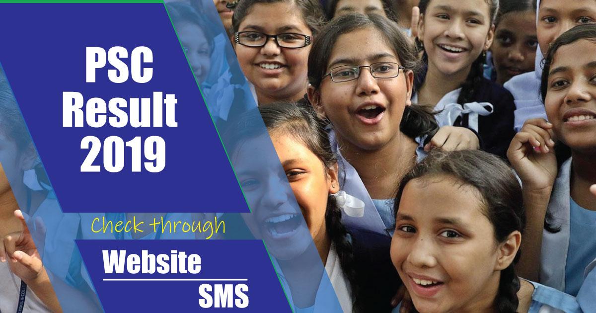 PSC Result 2019 Bangladesh