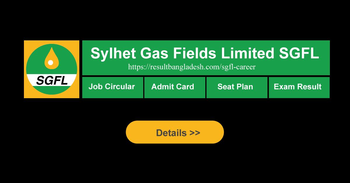 SGFL Result Bangladesh Admit Card