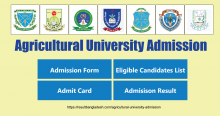 Agricultural University Admission