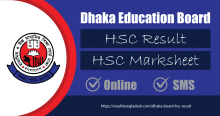 Dhaka Board HSC Result