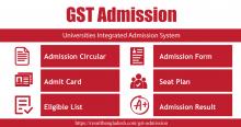 GST Admission