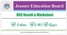 Jessore Board HSC Result and Marksheet