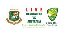 Bangladesh vs Australia Live