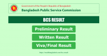 BCS Result Bangladesh