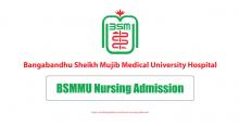BSMMU Nursing Admission