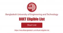 BUET Eligible List