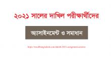 Dakhil Assignment 2021