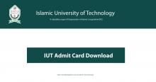 IUT Admit Card