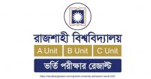 Rajshahi University Admission Result 2021