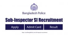 Sub Inspector SI Recruitment 2021