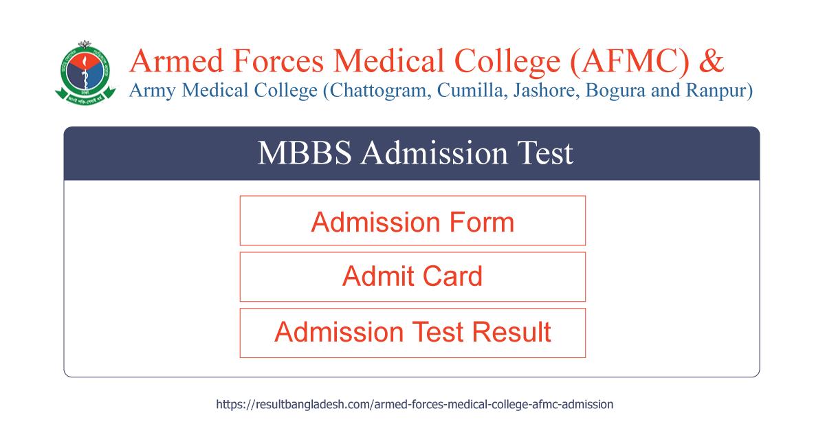 AFMC Admission