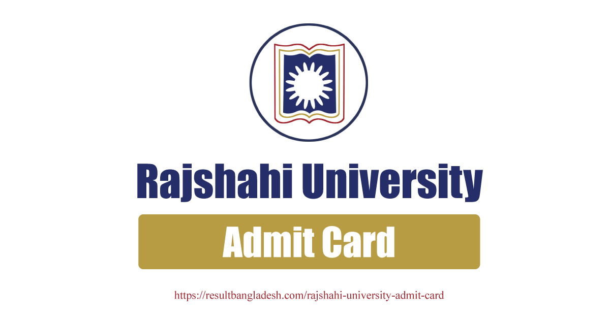 Rajshahi University Admit Card