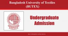 BUTEX Admission
