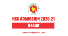 HSC Admission Results