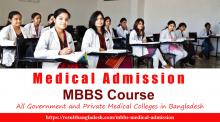 Medical MBBS Admission Result Bangladesh