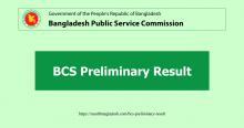 BCS Preliminary Result