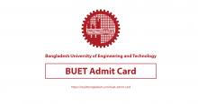 BUET Admit Card Download