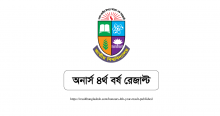 Honours 4th Year Result