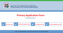 Primary Application Form